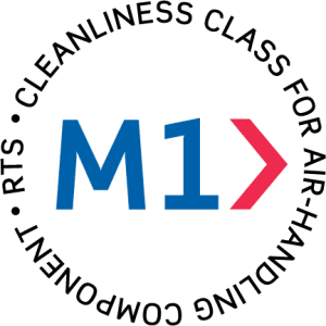 M1-IV logo en - Cleanliness class for air